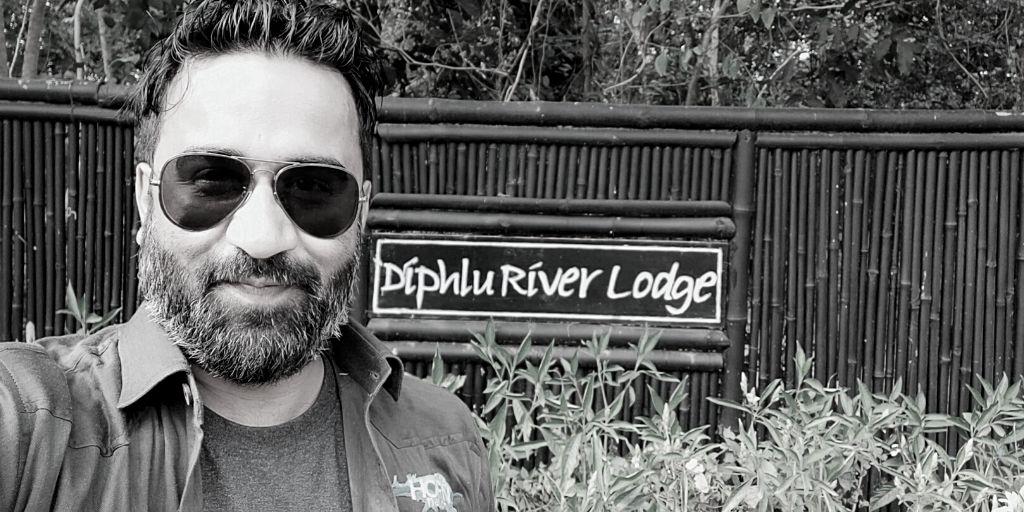 At the Diphlu River Lodge