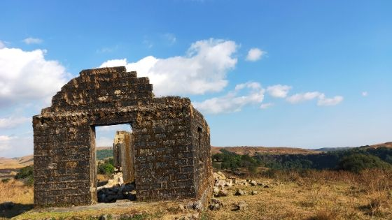 An ordinary ruined house Meghalaya