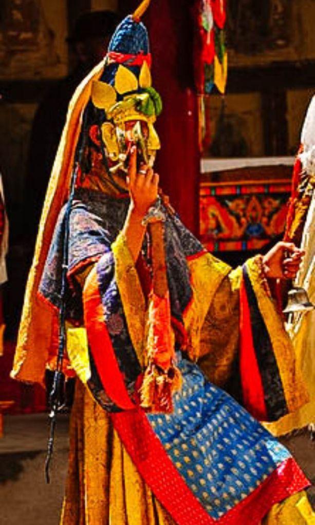 chham dance in Spituk