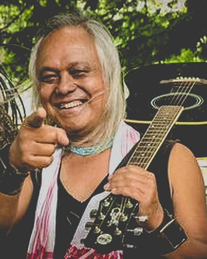 Lou Majaw a veteran musician from Shillong
