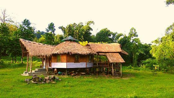 MISHMI Hill Camp - The Dining Hall. ( Photo Credit @ Dr Simanta Kalita)