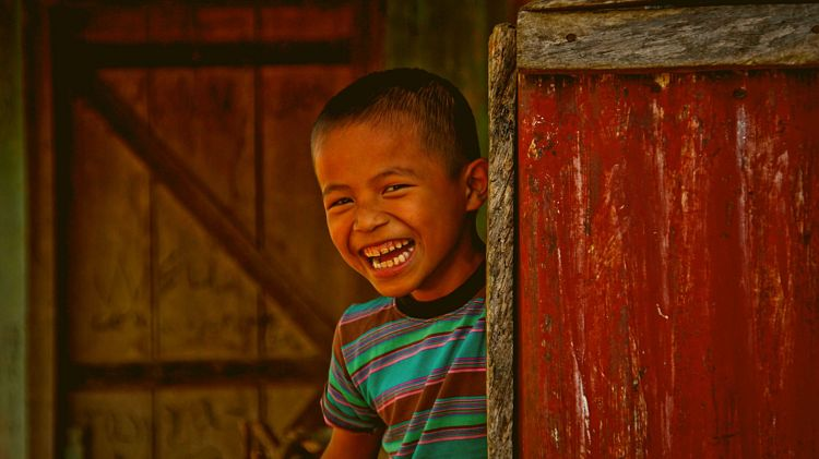 A Happy Face in Nagaland