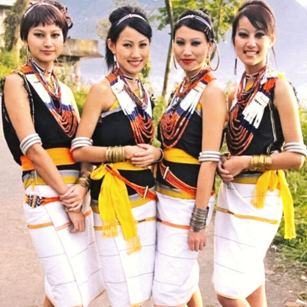 The Tetseo Sisters from Kohima who sing local naga folk songs