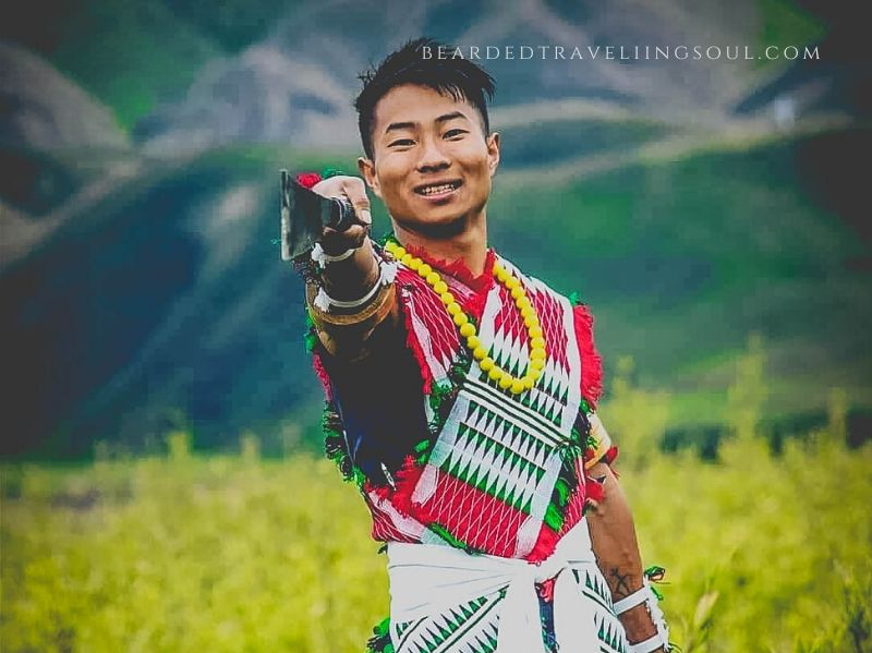 Neichiikho-o Nicholas Leno , the local Angami youth who completed his 100th trip to Dzukou Valley in 2019